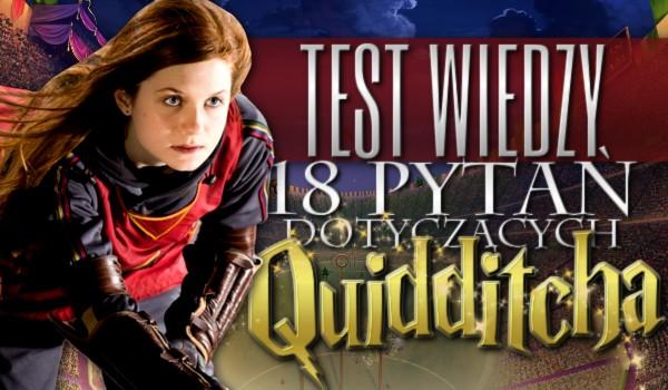 Test wiedzy: 18 pytań dotyczących quidditcha!