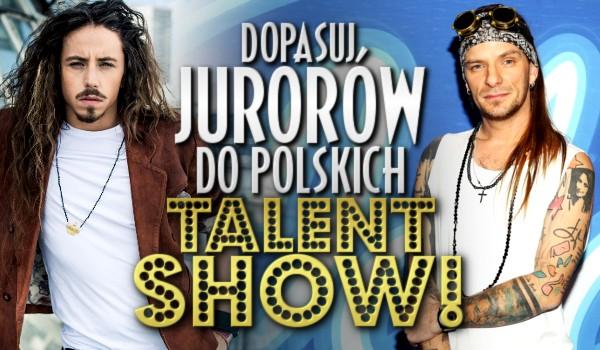 Idol czy The Voice of Poland? Dopasuj jurorów do polskich talent show!