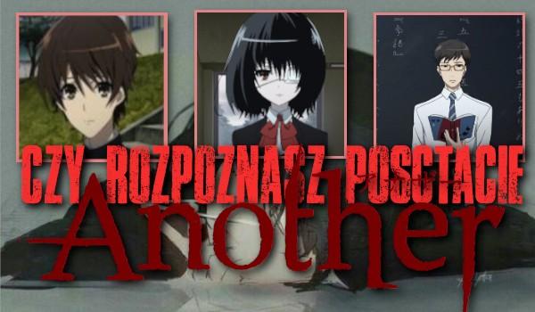 """Czy rozpoznasz postacie z anime ,,Another""""?"""