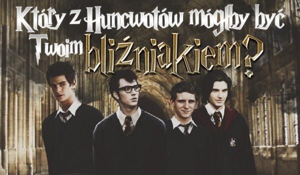 Który z Huncwotów mógłby być Twoim bliźniakiem?