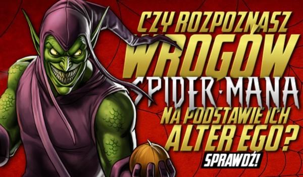 Czy rozpoznasz wrogów Spider-Mana po ich alter ego?
