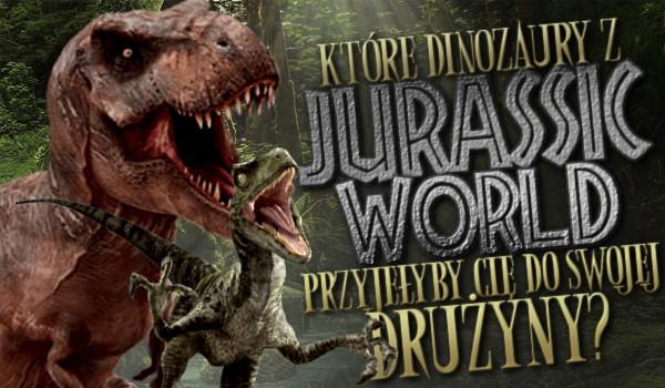 """Które dinozaury z """"Jurassic World"""" przyjęłyby Cię do swojej drużyny?"""
