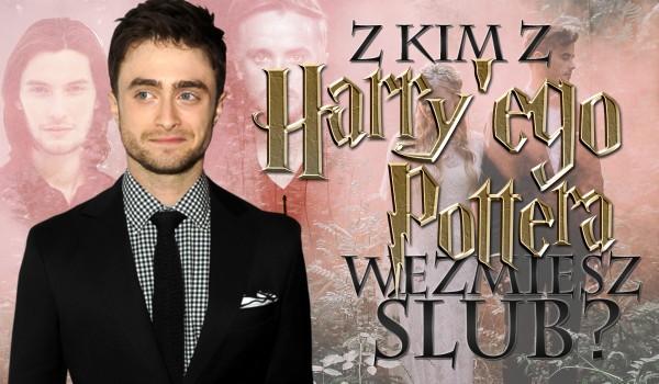 Z kim z Harry'ego Pottera weźmiesz ślub? #1