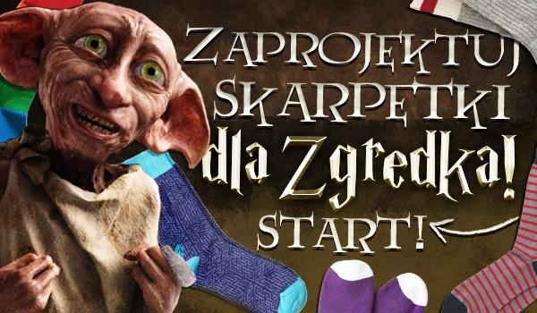 Zaprojektuj skarpetki dla Zgredka!
