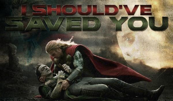I should've saved you