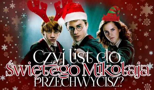 Czyj list do Świętego Mikołaja przechwycisz? – Harry Potter #2