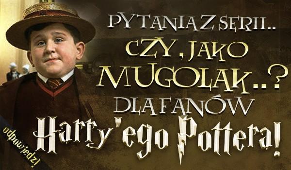 """Pytania z serii """"Czy, jako mugolak…?"""" dla fanów """"Harry'ego Pottera""""! – Głosowanie!"""
