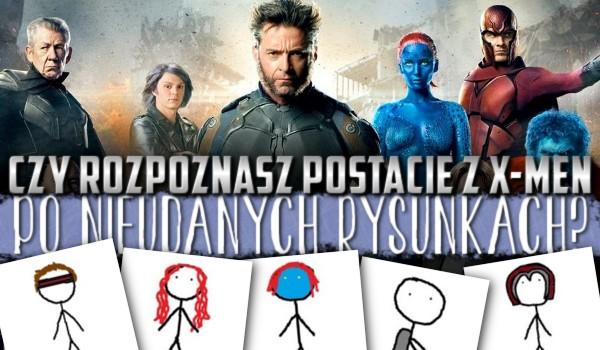 """Czy rozpoznasz niektóre postacie z """"X-Men"""" po nieudanych rysunkach?"""