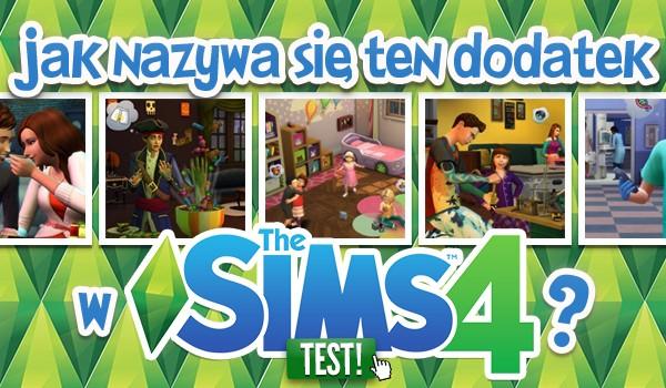 Jak nazywa się ten dodatek w The Sims 4?