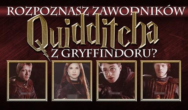 Czy odgadniesz wszystkich zawodników Quidditcha z reprezentacji Gryffindoru?