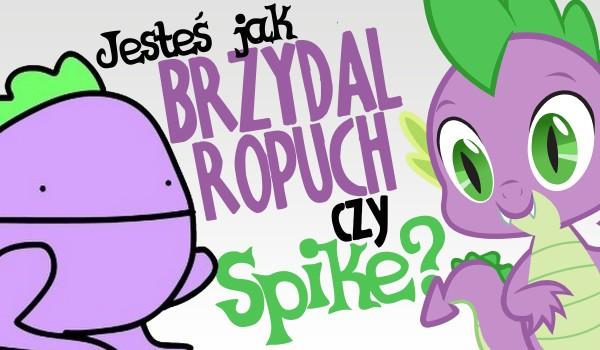 """Jesteś bardziej jak Spike z """"My Little Pony"""" czy Brzydal Ropuch z """"Kuców z Bronksu""""?"""