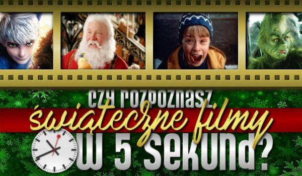 Rozpoznasz świąteczne filmy w 5 sekund?