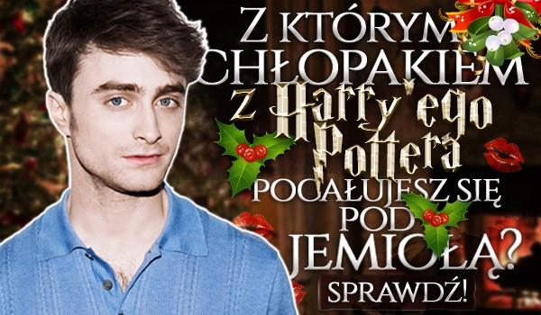 Z którym chłopakiem z Harry'ego Pottera pocałujesz się pod jemiołą?