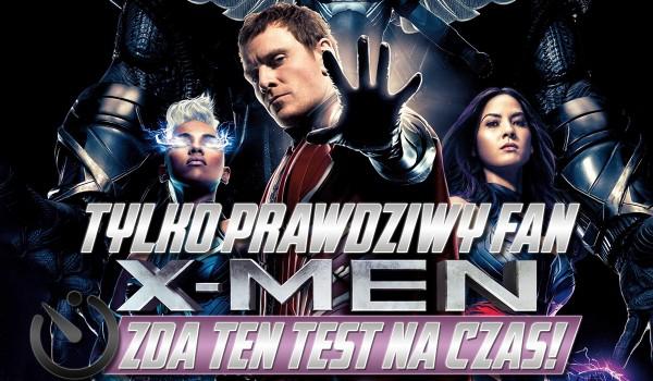 """Tylko prawdziwy fan """"X-Men"""" zda ten test na czas!"""