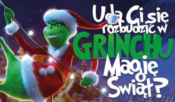Czy uda Ci się rozbudzić magię świąt w Grinchu?