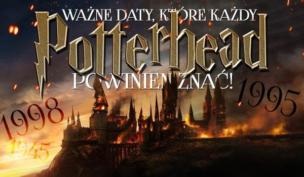Ważne daty, które powinien znać każdy Potterhead – test!