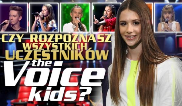 """Czy rozpoznasz wszystkich uczestników ,,The Voice Kids Poland""""?"""