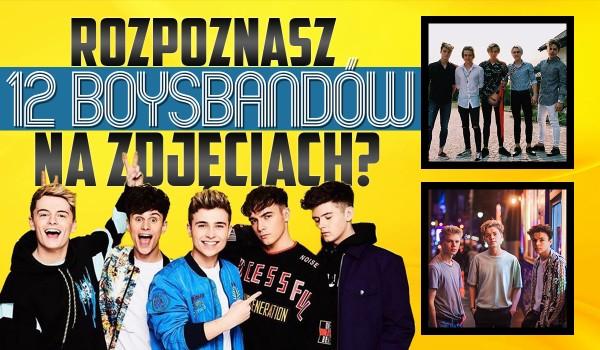 Rozpoznasz 12 boysbandów na zdjęciach?