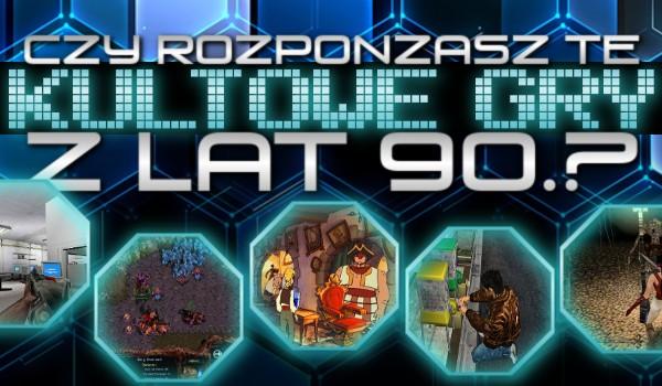 Czy rozpoznasz te kultowe gry z lat '90? #2