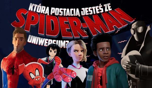 """Którą jesteś postacią z filmu """"Spider-Man Uniwersum""""?"""