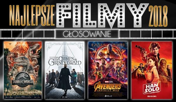Głosowanie: Najlepsze filmy 2018 roku!