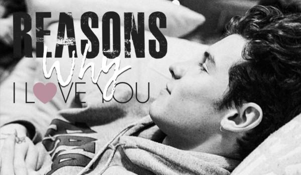 reasons why i love u – Prolog