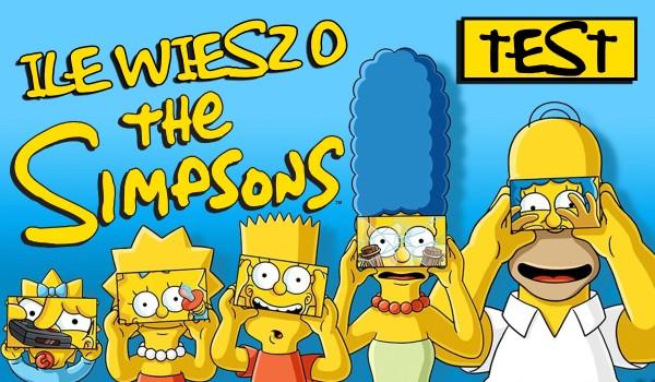 Ile wiesz o Simpsonach?