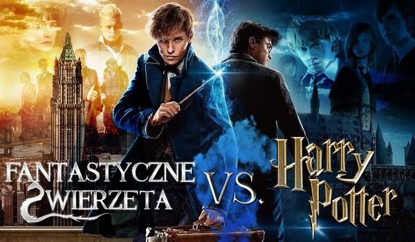 """""""Fantastyczne zwierzęta"""" vs. """"Harry Potter""""!"""