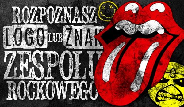 Czy uda Ci się dopasować logo lub znak do danego zespołu rockowego?