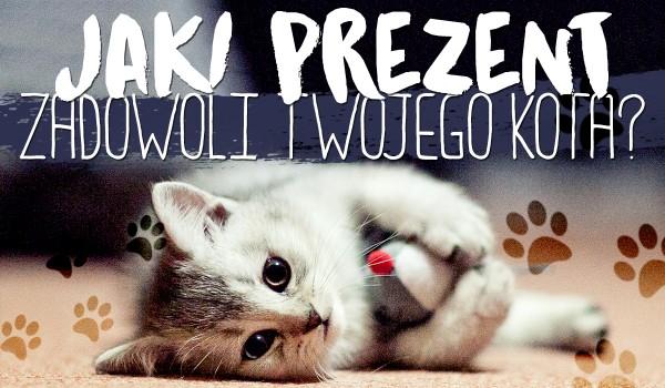 Jaki prezent zadowoli Twojego kota?