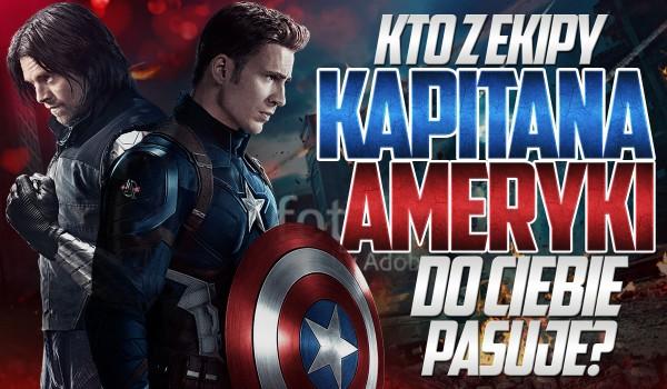 Kto z ekipy Kapitana Ameryki do Ciebie pasuje?