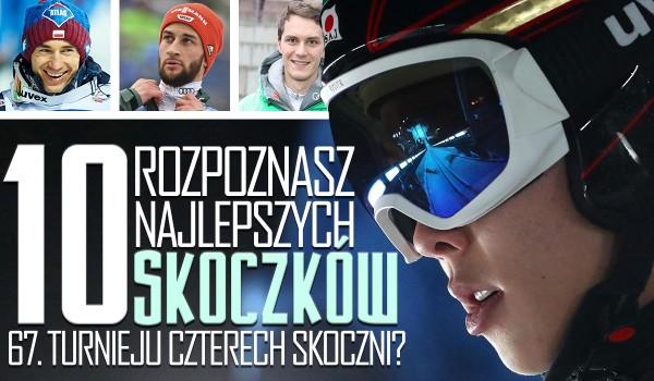 Czy rozpoznasz 10 najlepszych skoczków narciarskich 67. Turnieju Czterech Skoczni?