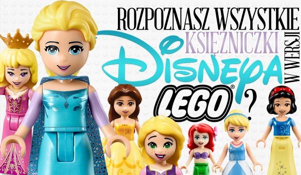 Rozpoznasz księżniczki Disneya w wersji Lego?