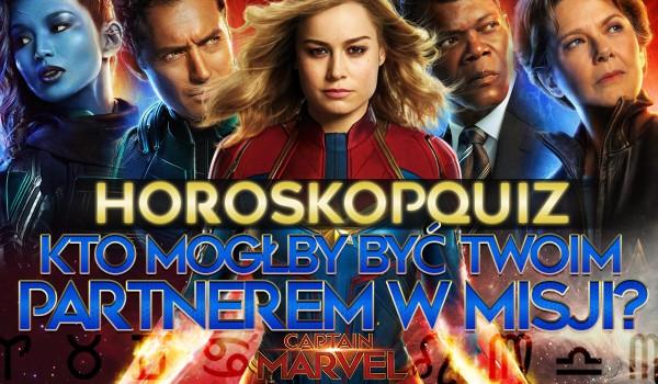 """Horoskopquiz: Kto z filmu """"Kapitan Marvel"""" mógłby być Twoim partnerem w misji?"""