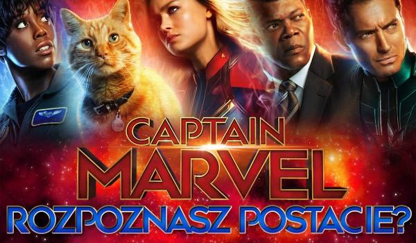 """Rozpoznasz wszystkie postacie z filmu """"Kapitan Marvel""""?"""