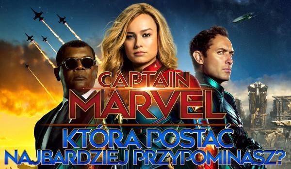 """Jaką postać z filmu """"Kapitan Marvel"""" przypominasz?"""