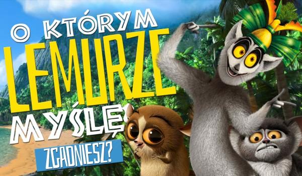 O którym lemurze myślę? – Mort, Maurice czy Król Julian?
