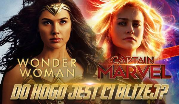 Bliżej Ci do Wonder Woman czy Kapitan Marvel?