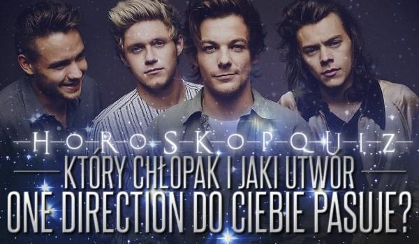 Horoskopquiz: Który chłopak i jaki utwór One Direction do Ciebie pasują?
