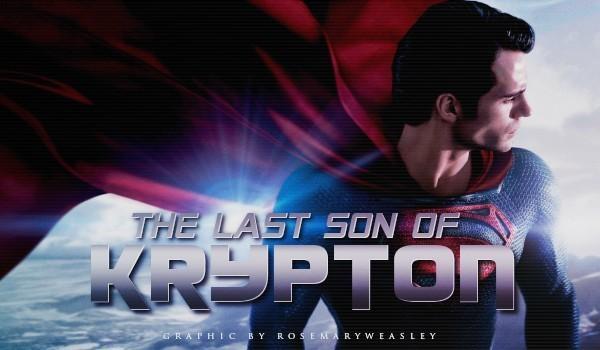 The Last Son of Krypton #1