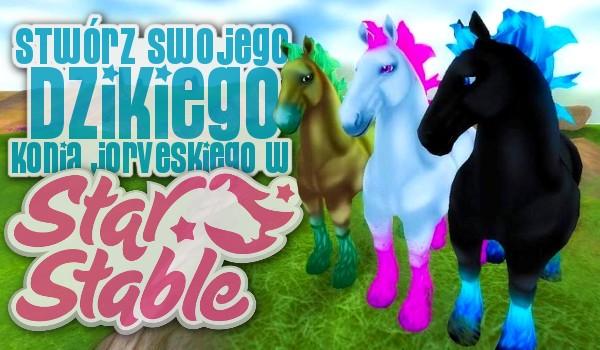 Kreator: Stwórz swojego własnego Dzikiego Konia Jorveskiego ze Star Stable!