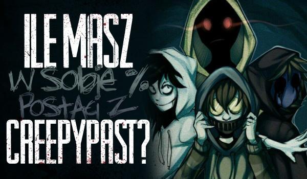 Ile masz w sobie % postaci z Creepypast?