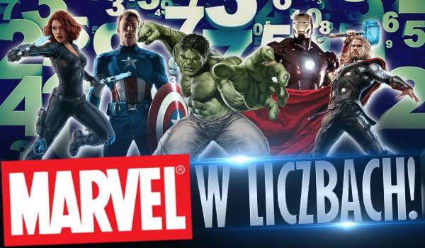 """""""Marvel"""" w liczbach!"""
