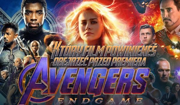 """Jaki film """"Marvela"""" powinieneś obejrzeć przed premierą """"Avengers: Endgame""""?"""