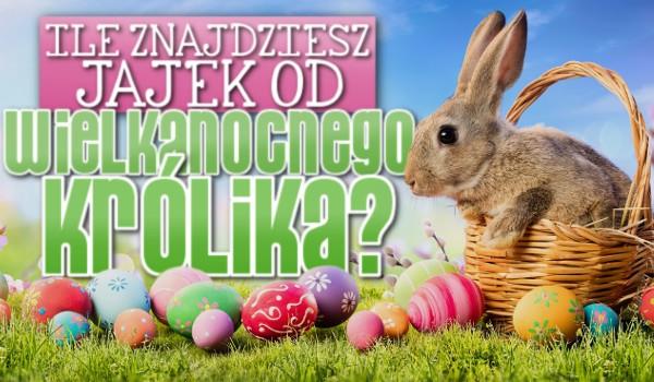 Ile znajdziesz jajek od Wielkanocnego Królika?