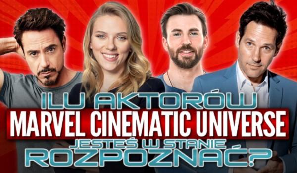 """Ilu aktorów """"Marvel Cinematic Universe"""" jesteś w stanie rozpoznać?"""
