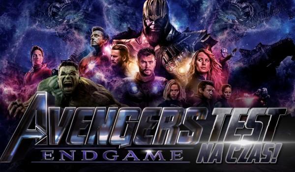 """""""Avengers: Endgame"""" – test wiedzy na czas!"""