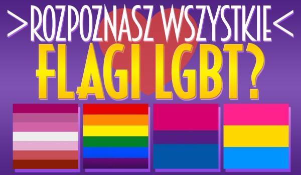 Czy rozpoznasz flagi LGBT?