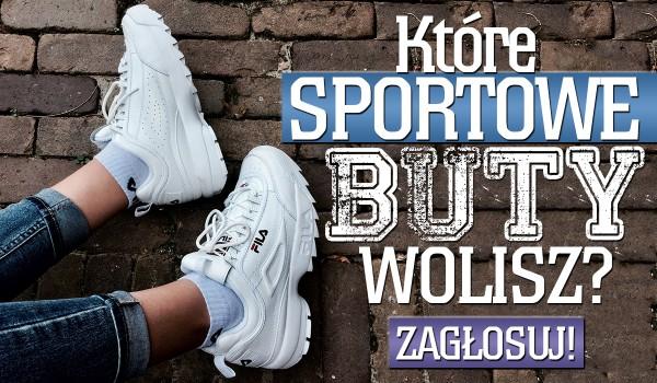 Które sportowe buty wolisz? #2
