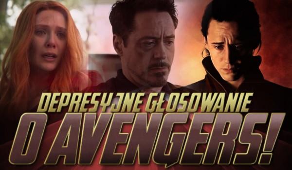 """Depresyjne głosowanie o """"Avengers""""!"""